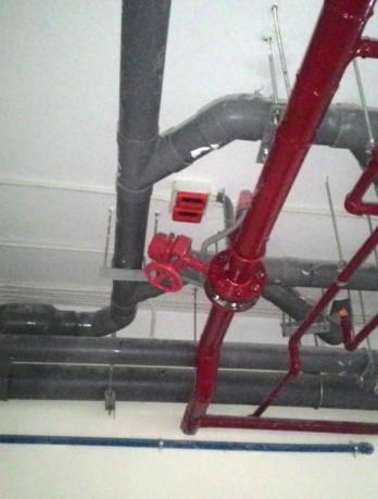 Modun giám sát van chữa cháy và công tắc dòng chảy