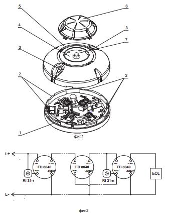 Sơ đồ cấu tạo FD8040 Unipos