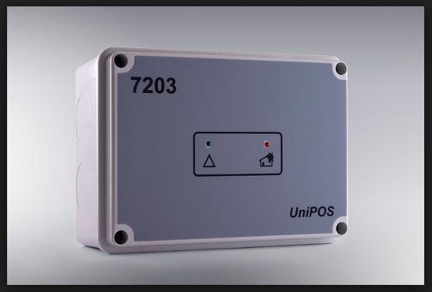 Module giám sát điều khiển 3 ngõ vào/6 ngõ ra FD7203 Unipos