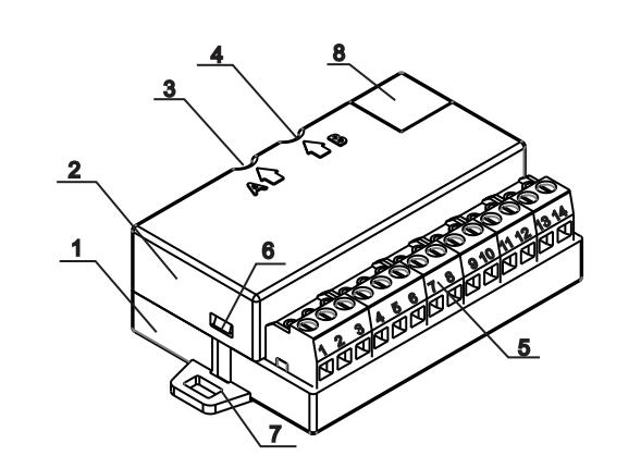 Sơ đồ module FD7203 Unipos