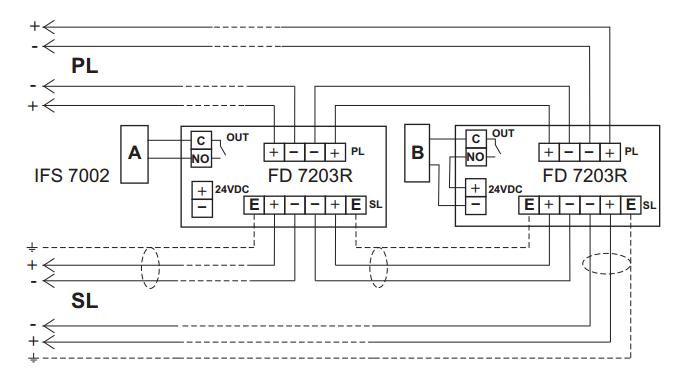Sơ đồ module FD7203R Unipos