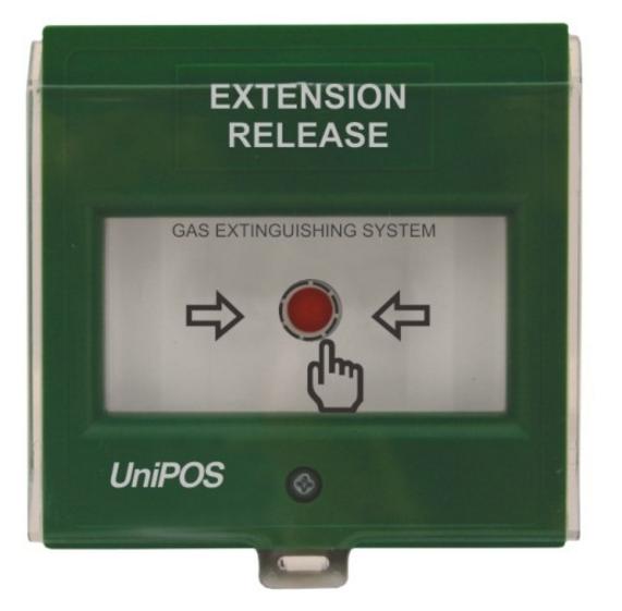 Nút nhấn kích hoạt xả khí mở rộng FD3050G
