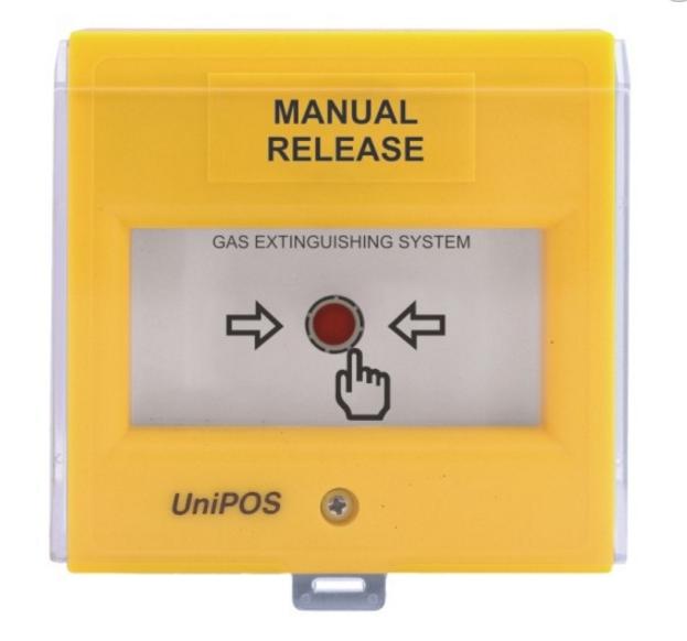 Nút nhấn kích hoạt xả khí bằng tay FD3050Y