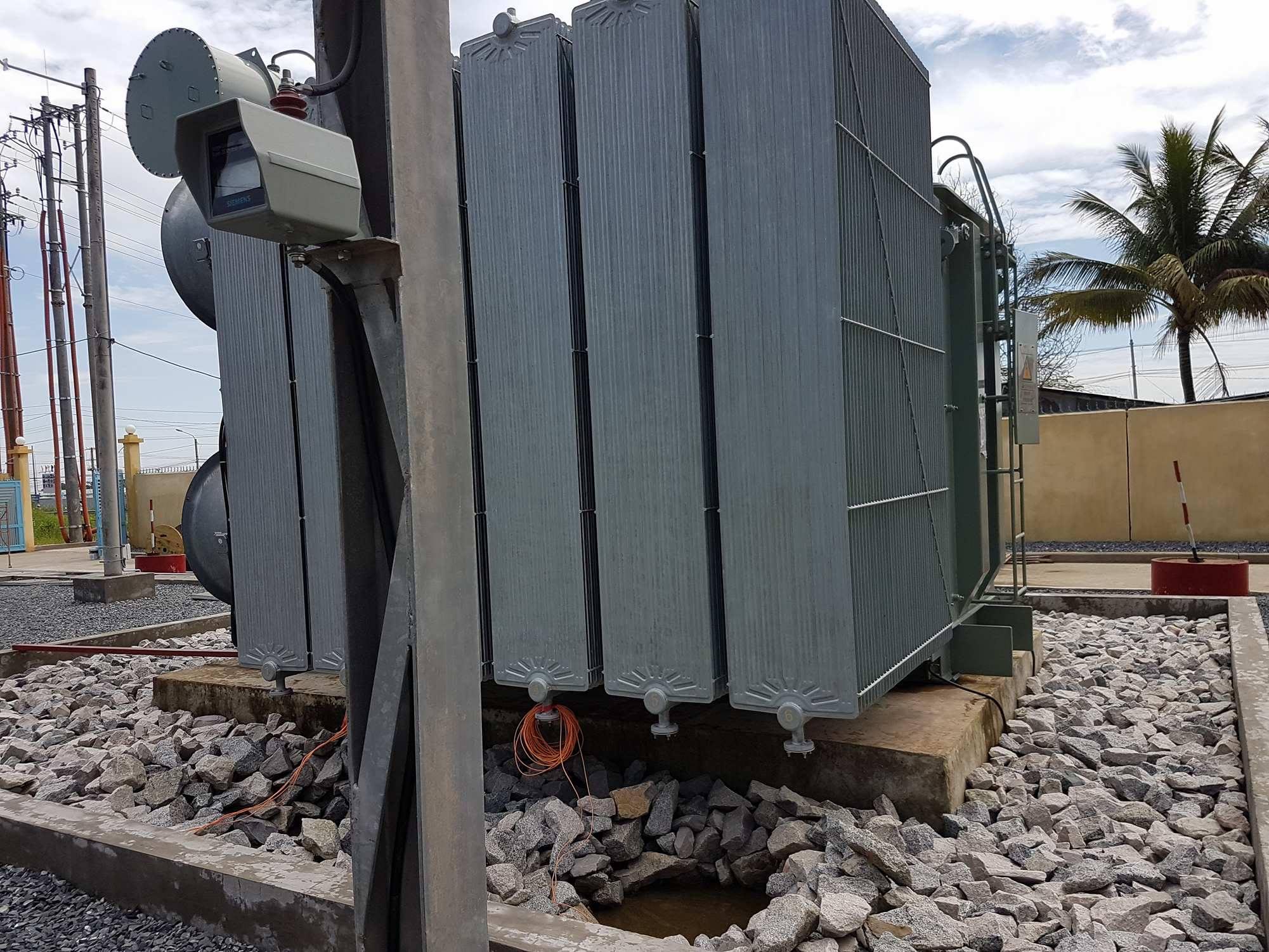 Vị trí lắp đặt đầu báo nhiệt chống nổ cho máy biến áp