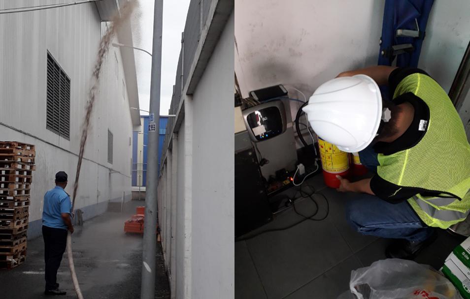Kiểm tra hệ thống bơm chữa cháy