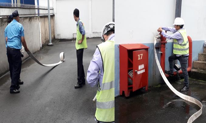 bảo trì hệ thống chữa cháy vách tường