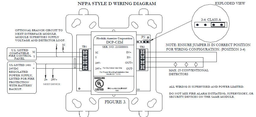 hướng dẫn lắp đặt mô đun giám sát cho đầu báo thường DCP-CZM
