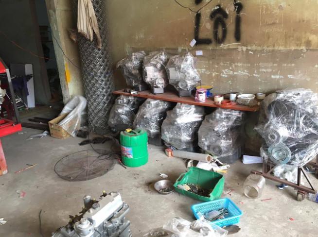 Nhà xưởng lắp ráp máy