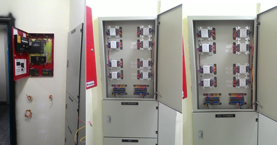 Tủ đựng module điều khiển cho hệ thống
