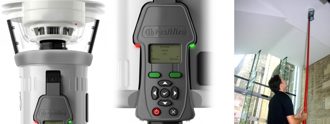 Testifire 1000: Thiết bị Kiểm tra đầu báo khói, nhiệt, CO