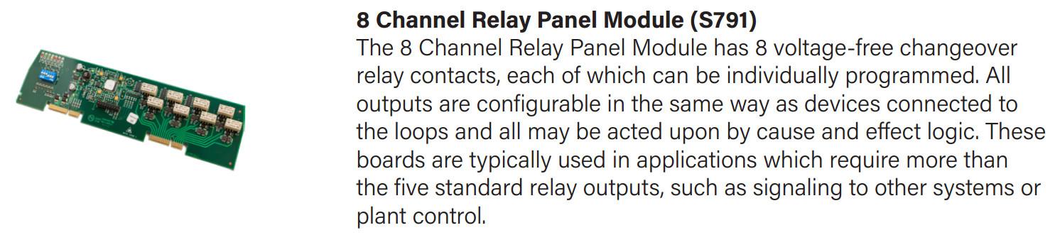 Card mở rộng 8 ngõ ra relay S791
